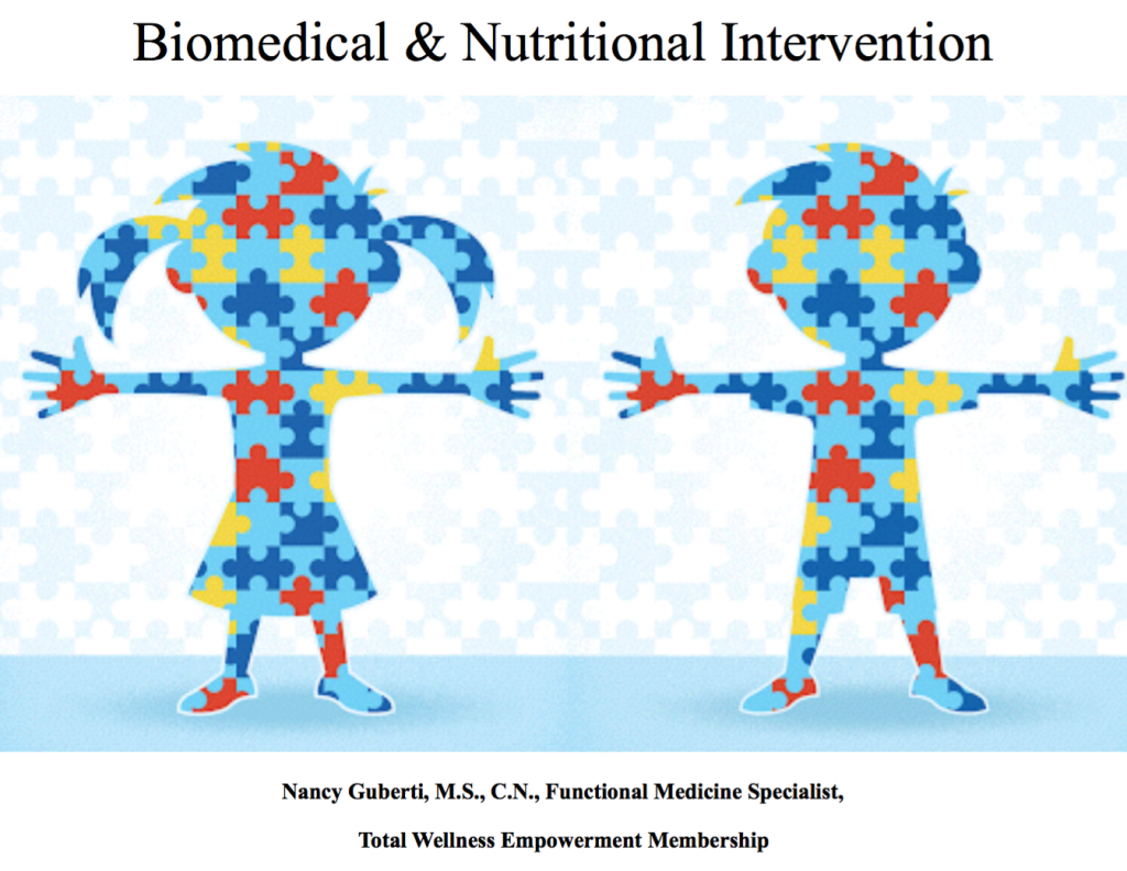 Biomedical Nutritional Intervention